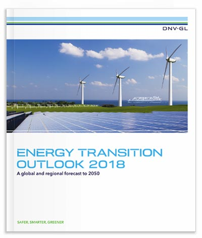 Energy Transition Outlook 2018 main report cover