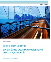 Document d'orientation ISO 9001 2015