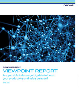 DNV GL ViewPoint report Big Data